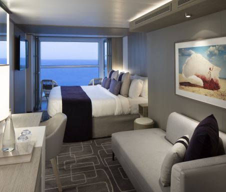 Celebrity Edge, Edge, EG, Celebrity Apex, AX, Stateroom, Accommodations, cabins, Edge Infinite Veranda, Concierge Class, AquaClass