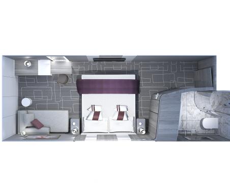 Edge Deluxe Inside Stateroom 1