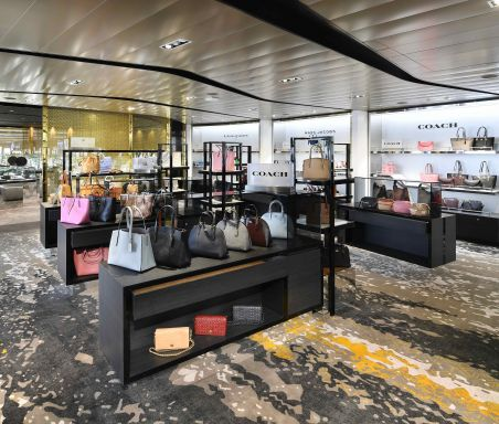 Celebrity Edge, EG, shops, onboard, boutiques, stores, shopping, retail, bags, handbags, purses, designer, brands