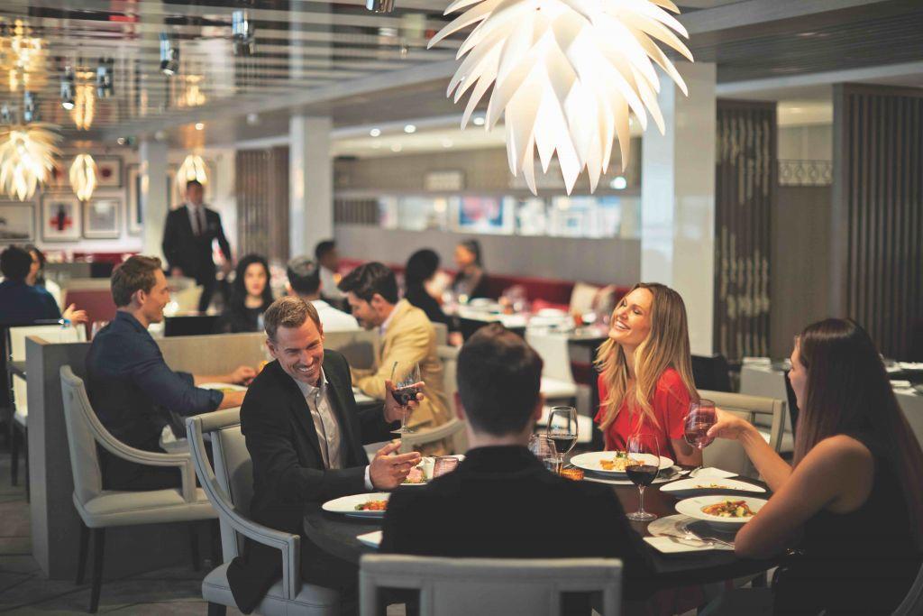 Celebrity Edge, EG, Luminae, Suite Class, dining, culinary, couples, friends, group, restaurant
