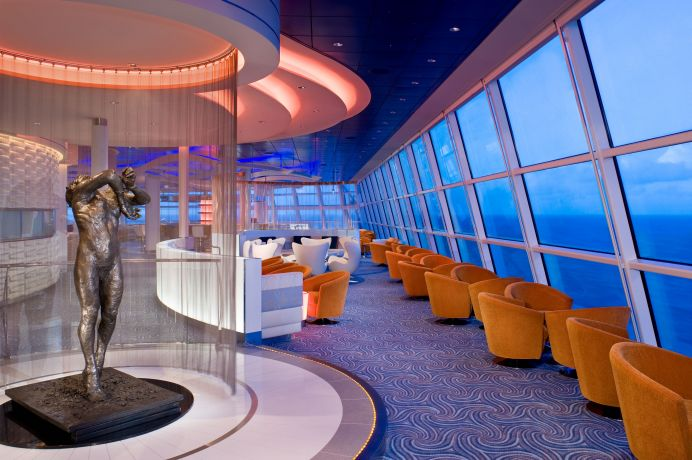 Sky Lounge - Deck 14 Forward Celebrity Solstice - Celebrity Cruises