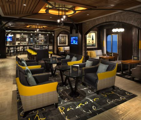Craft Social, a bar on Celebrity Cruises