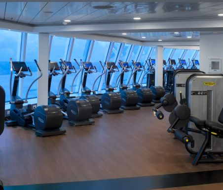 Edge Fitness Center on Celebrity Cruises