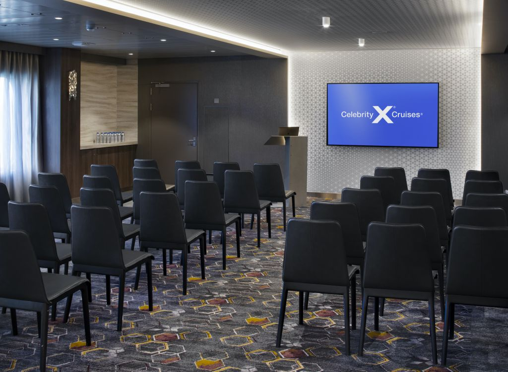 Celebrity Edge, EG, The Meeting Place, meetings and incentives, charters, business to business, presentations