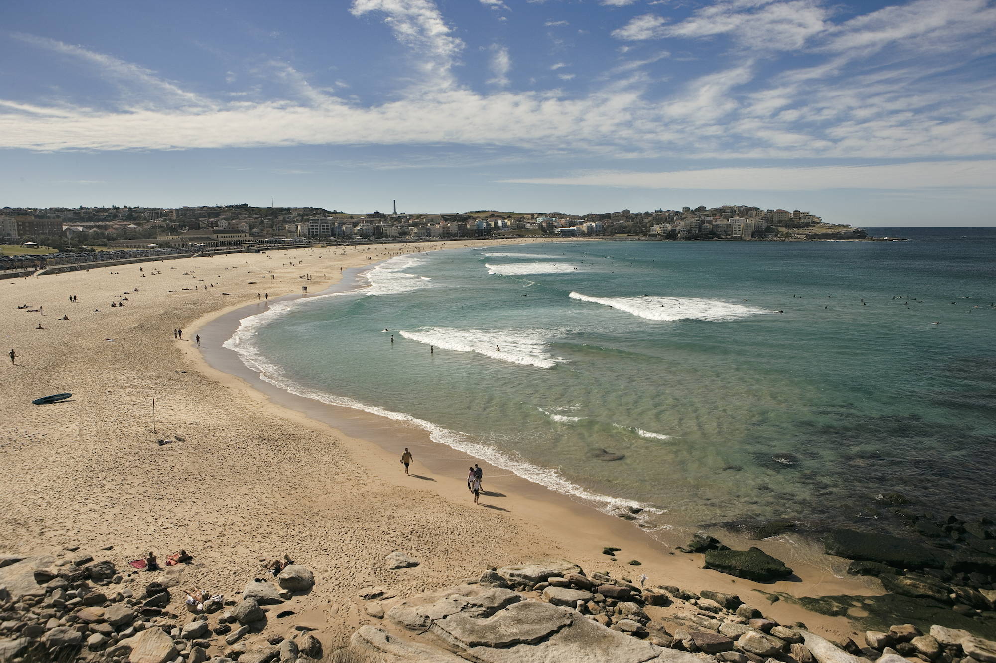 Beautiful beach in Sydney, Australia
